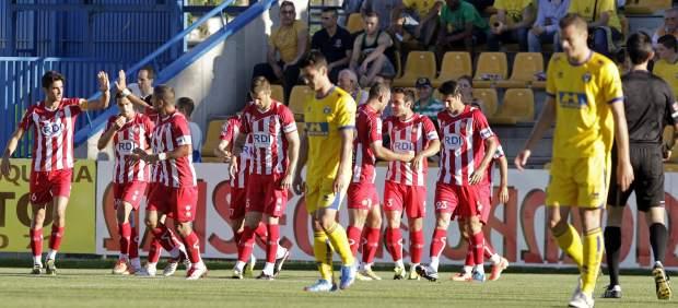 Gol del Girona al Alcorcón