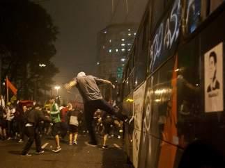 Brasil, en pie de guerra contra los precios del transporte