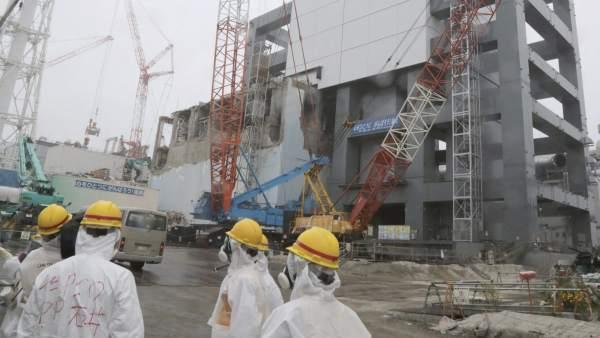 Desmantelamiento de la central de Fukushima