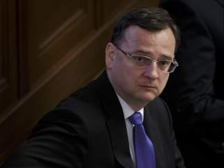 El primer ministro checo Petr Necas