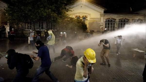 Desalojo de Taksim