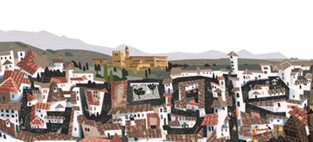 Un 'doodle' recuerda los mil años del Reino de Granada
