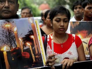 Marcha contra la violación en la India