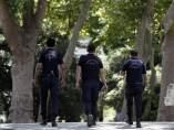 Policías en Turquía