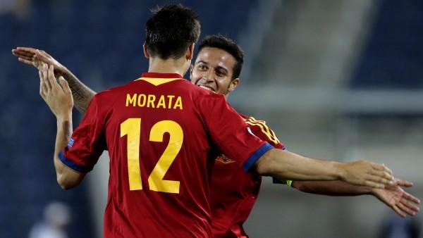 Thiago y Morata