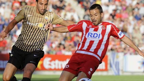 Girona-Almería, ida de la promoción de ascenso a Primera División