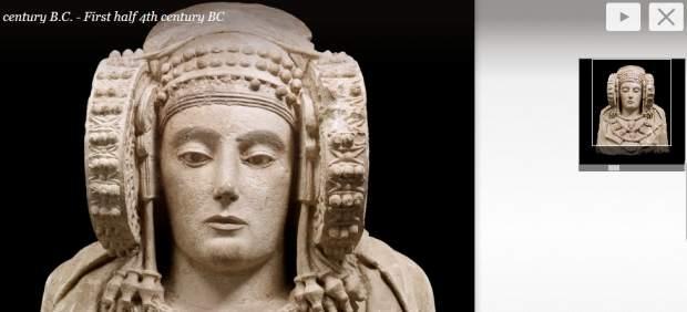 Goya y La Dama de Elche se dejan ver Google Art Project
