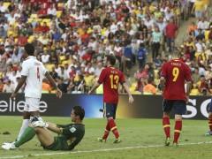 Cuarto gol de España