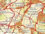 Mapa de los municipios del Suroeste de la Comunidad de Madrid