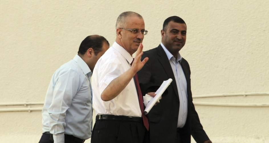 Los ministros del gobierno de unidad palestino abandonan for Ministros del gobierno