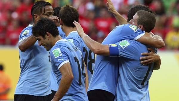 Jugadores de Uruguay