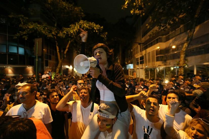 Cuatro mil personas protestan en Río de Janeiro contra la impunidad