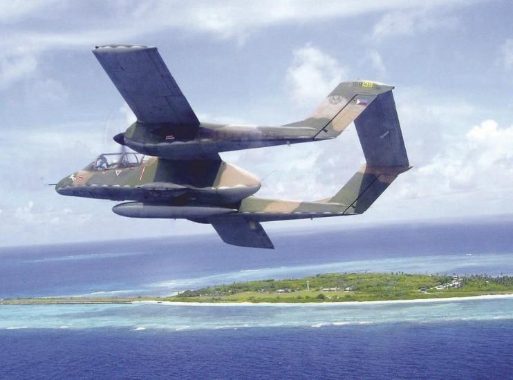 Un avión de las Fuerzas Aéreas Filipina permanece desaparecido