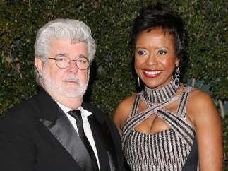George Lucas y Melody Hobson