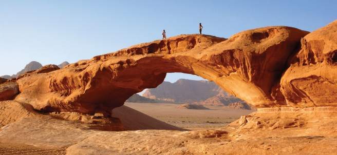 Areniscas del Wadi Rum