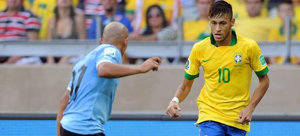 Brasil-Uruguay en las semifinales de la Copa Confederaciones