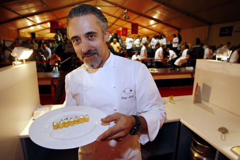 El restaurante de sergi arola en madrid cierra sus puertas - Restaurante de sergi arola ...