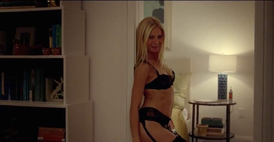 La secretaria alemana Tatjana Young en una escena de sexo