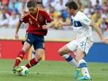 Fernando Torres, ante Barzagli