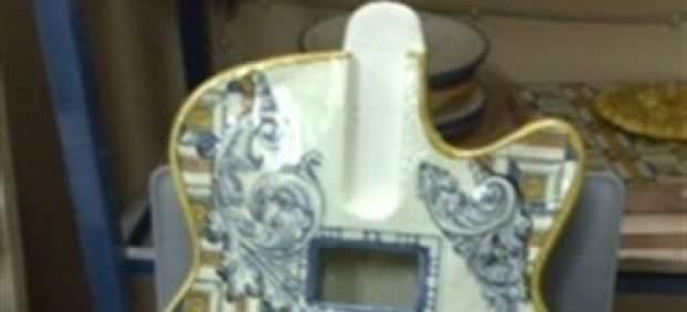 Guitarra de cerámica