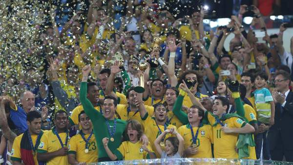 Brasil con la Copa Confederaciones