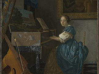 'A Young Woman seated at a Virginal'