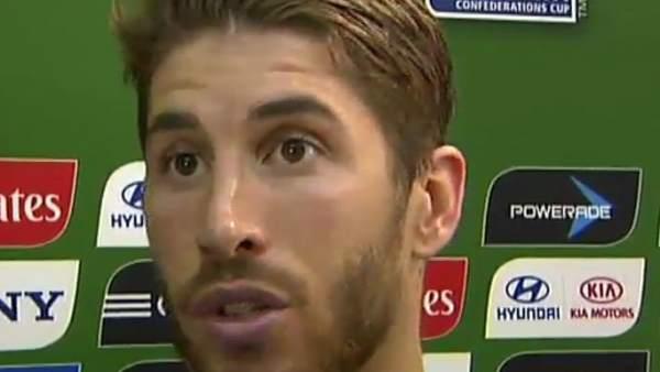 """Ramos: """"Ajusté mucho y se me fue"""""""
