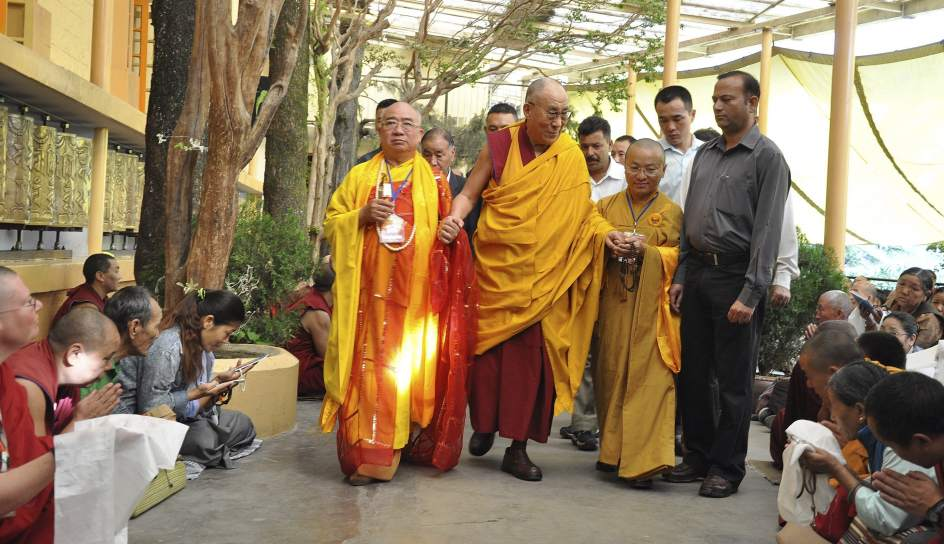 Dalai Lama, el profesor
