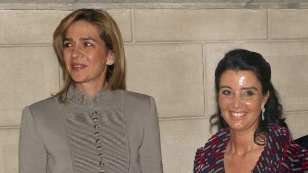 La infanta Cristina y Godia