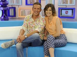 Joaquín Prat y Sandra Barneda