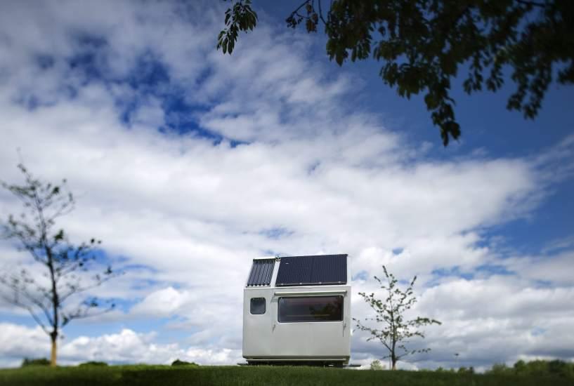 Prototipo de casa minimalista