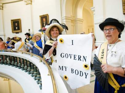 Polémica ley del aborto en Texas