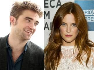 Robert Pattinson y Riley Keough