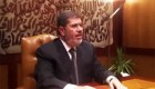 Reaparece Morsi tras el golpe de Estado