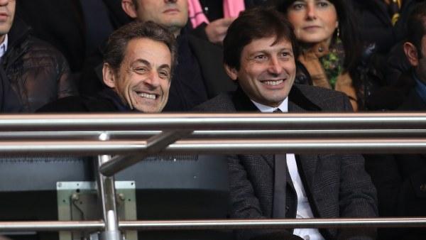 Leonardo y Sarkozy