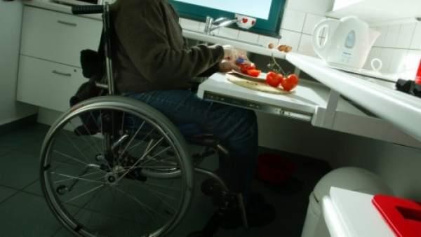 Cadira rodes dependència