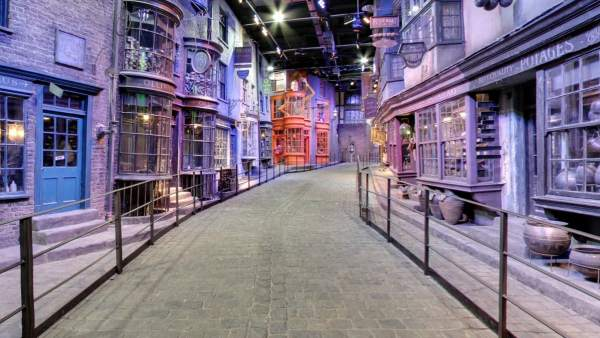 Google Street View permite visitar el Callejón Diagon de Harry Potter