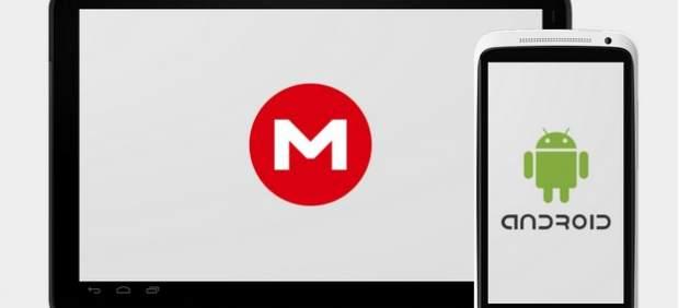 Mega lanza una aplicación para dispositivos Android