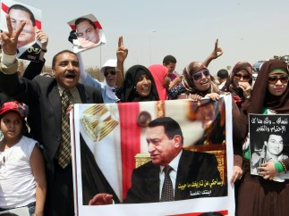 Pro-Mubarak
