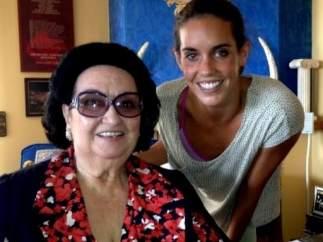 Montserrat Caballé y Ona Carbonell