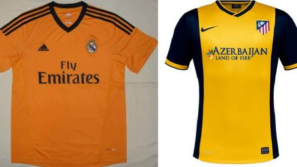e7fa5729a1 Los diseñadores de camisetas de fútbol apuestan por los colores vivos en la  temporada 2013-2014