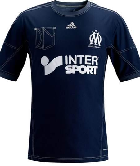 segunda equipacion Olympique de Marseille nuevo