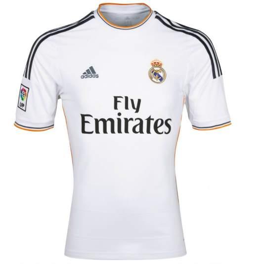 Las camisetas de la nueva temporada. 1 14. Camiseta Real Madrid 2013 2014. c301373790ec8