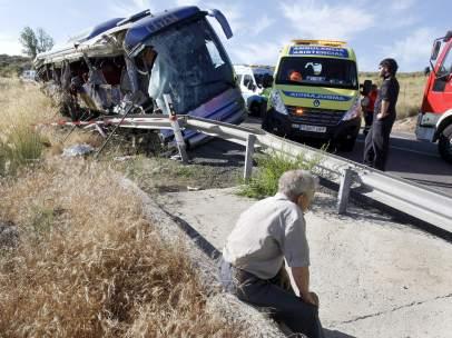 Accidente en Ávila