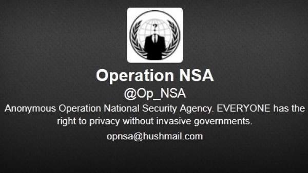 Perfil de Twitter de Operation NSA