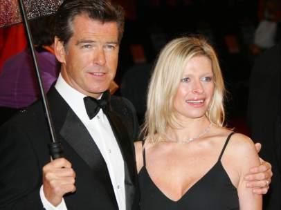 Pierce Brosnan y su hija Charlotte