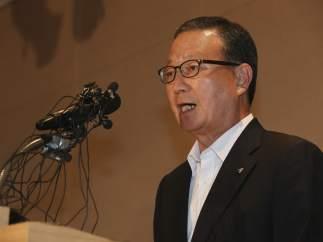 Presidente de la aerolínea Asiana Airlines, Yoon Young-doo