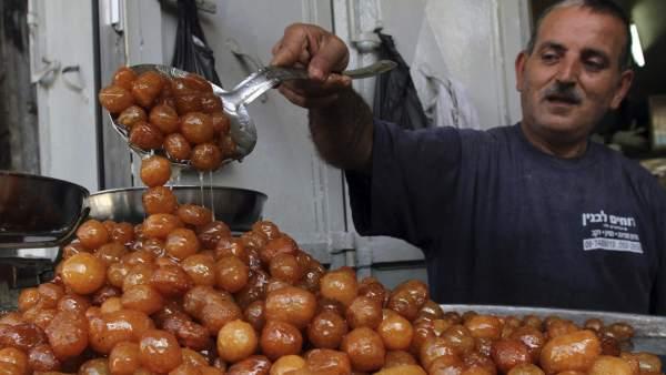 Preparación de comida para el Ramadán