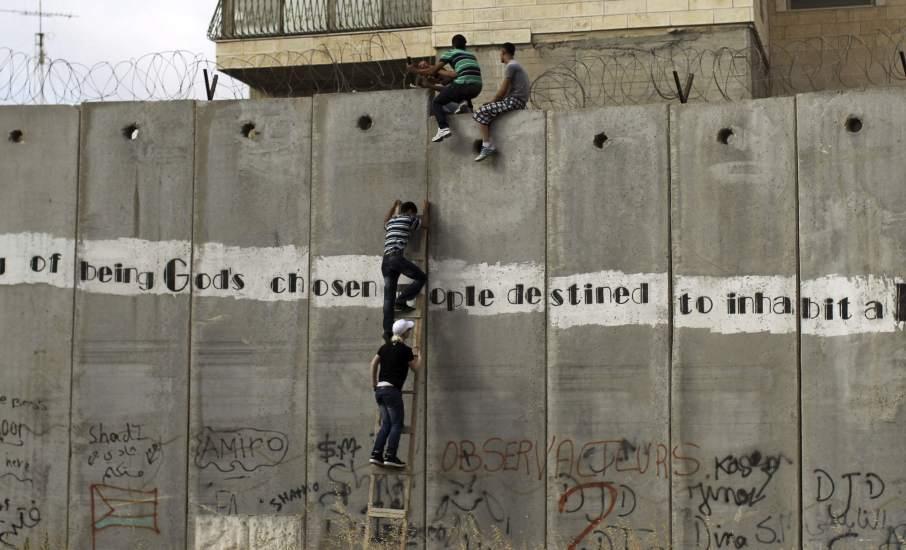 Saltando el muro de Al-Ram