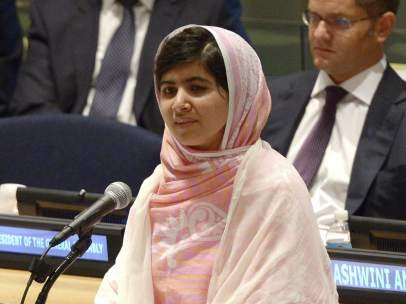 Homenaje a Malala en la ONU